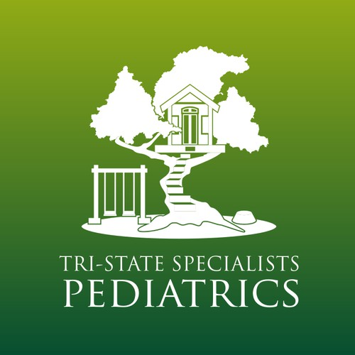 tri State Speciallist pediatrics logo designs .