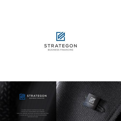 modern minimalist concept. Lettering+ square