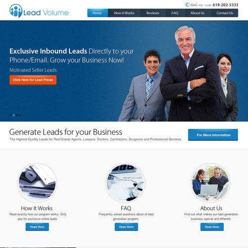 Create a Killer Landing Page Site for Lead Volume