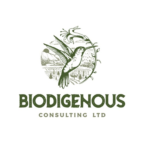 Biodiversity Consulting Company logo design