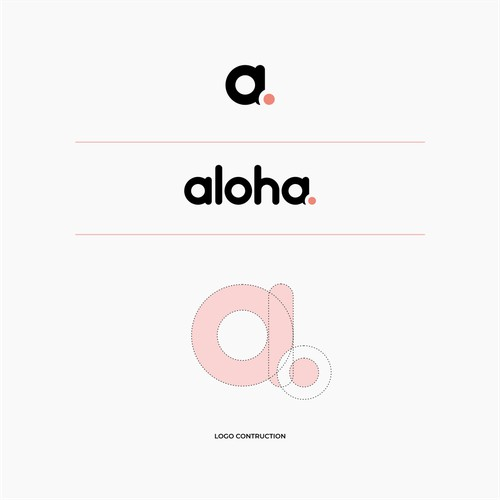 a powerful 'letter' logo for our e-commerce agency