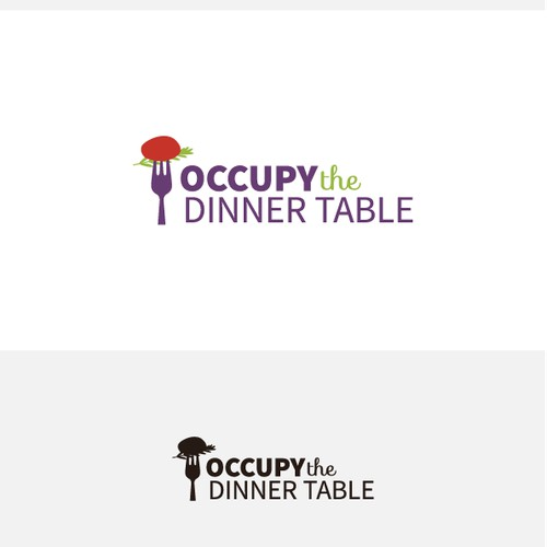 Occupy The Dinner Table needs a new logo
