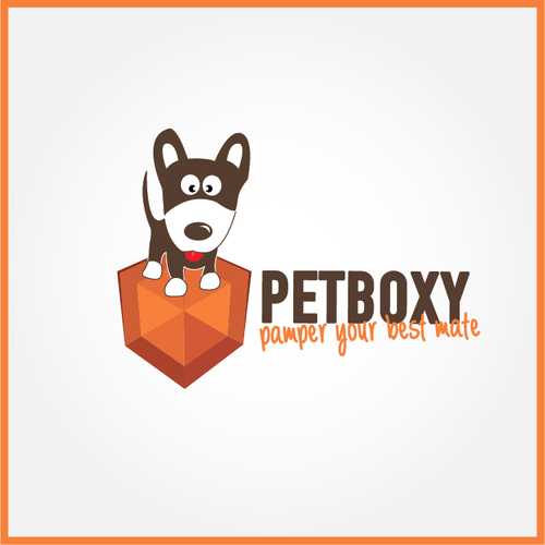Online Pet Goodies Business PetBoxy Needs A Classy Logo Design.