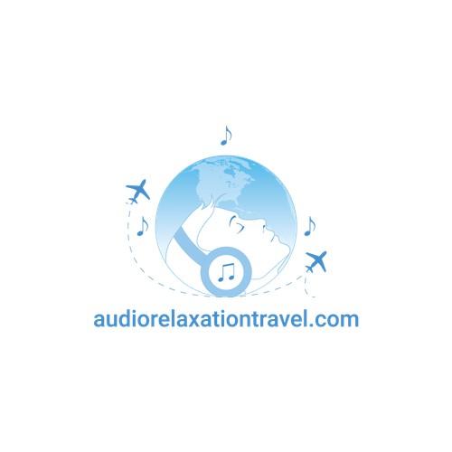 Logo concept for audiorelaxationtravel.com