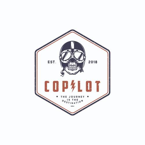 concept logo for copilot