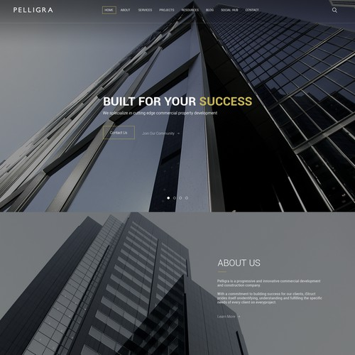 Pelligra website