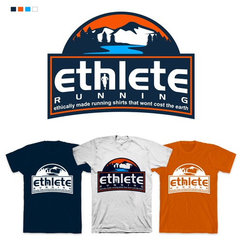 Design Logo Ethlete Running