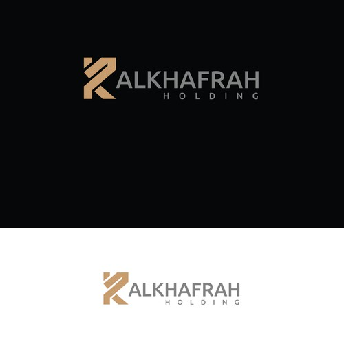 Creat an Abstract logo Containing a combination of two letters one in ENGLISH the other in ARABIC,,,