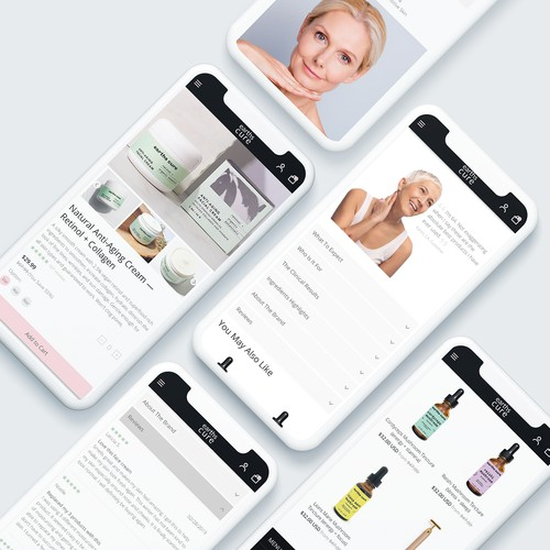 Product Landing Page Design/ Mobile First Approach