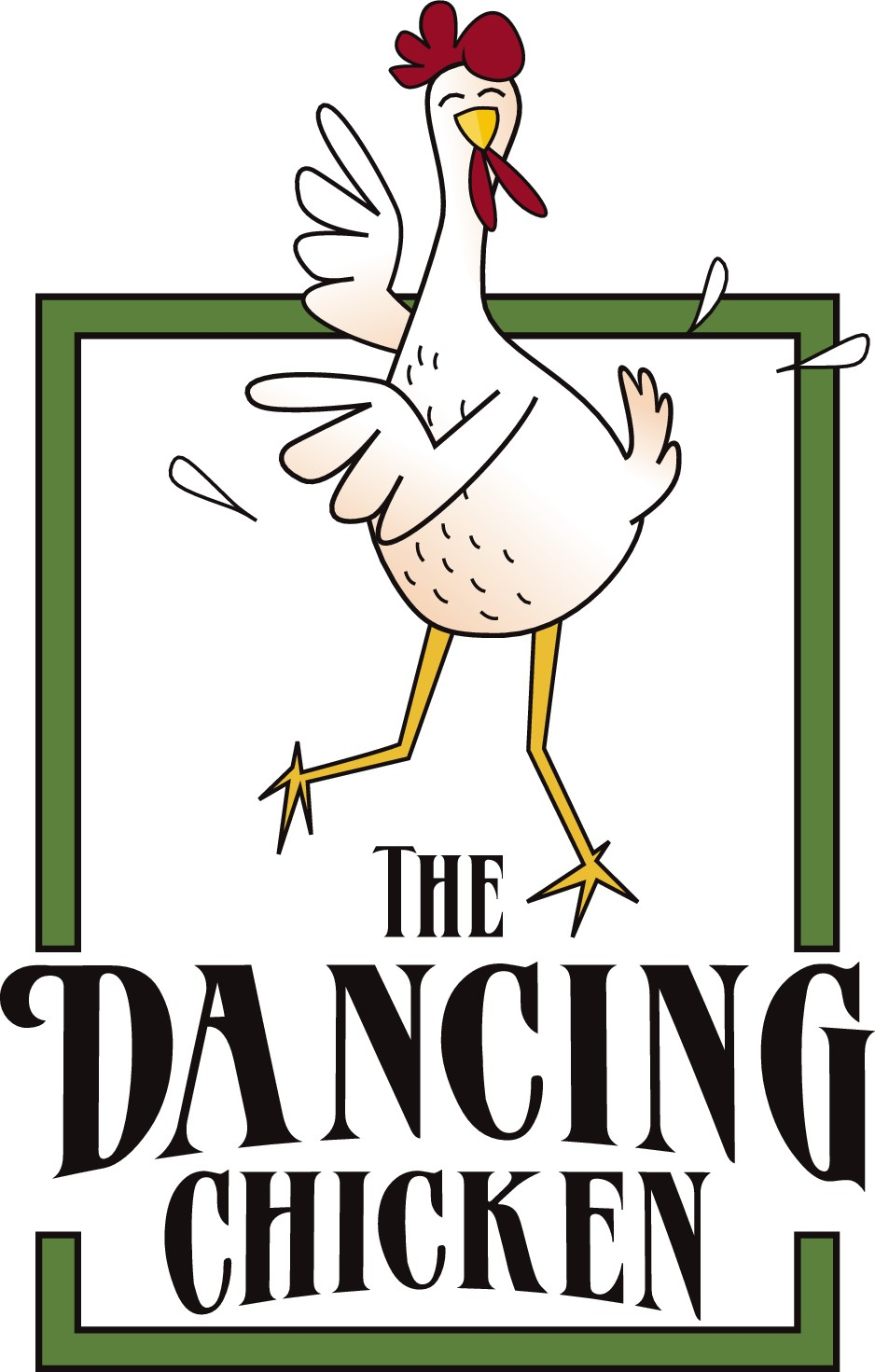 Create a fun, colourful logo for our new cafe and local grocer, The Dancing Chicken
