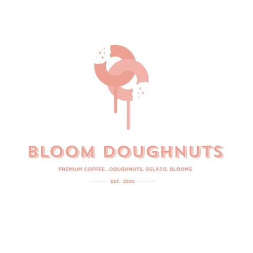 Bloom Doughnuts Logo Concept