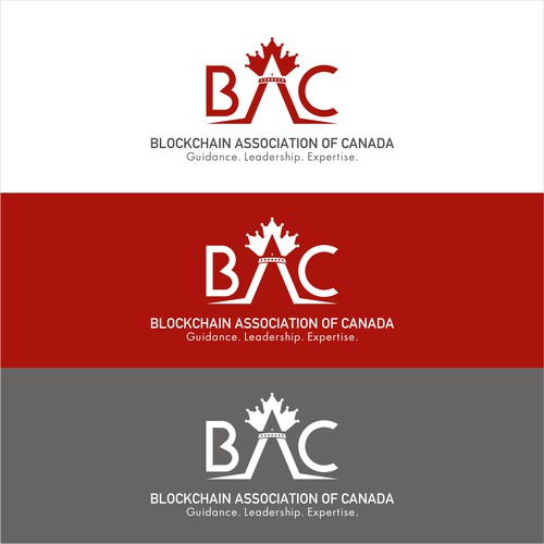 Logo concept for The Blockchain Association of Canada (BAC)