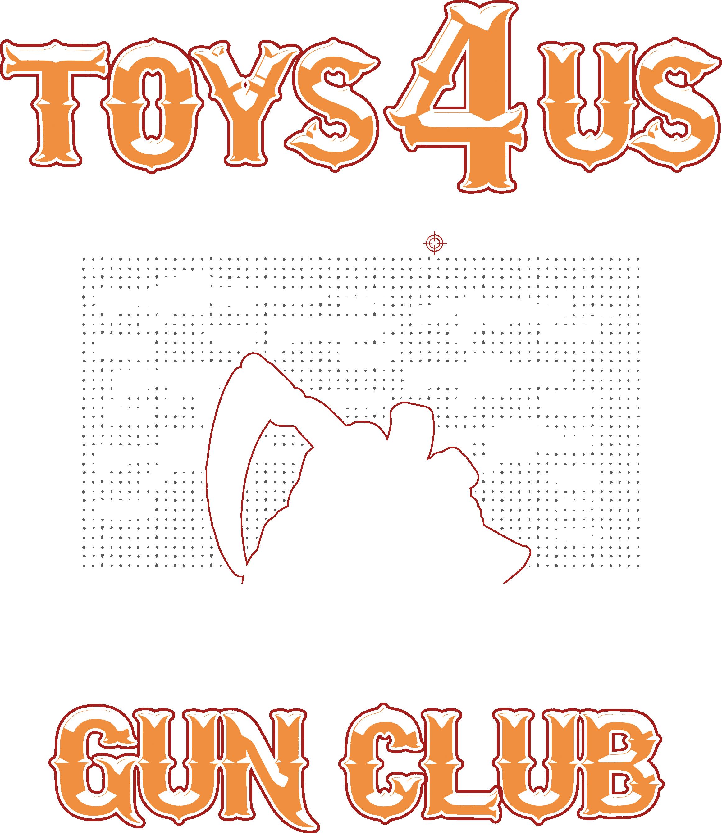Toys 4 Us, Warren Lotus type of design, Guns and Skulls