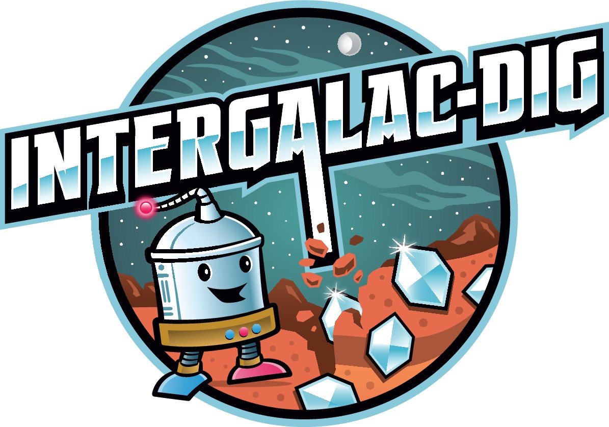 Logo for a mobile game