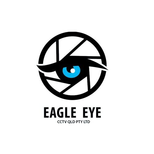 design entry logo for eagle eye cctv