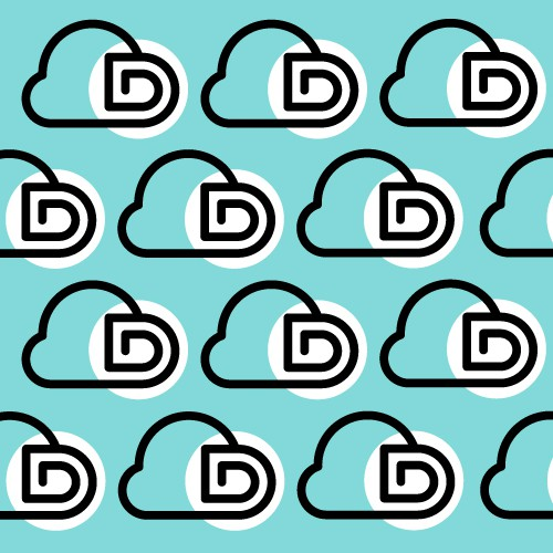D Clouds Logo