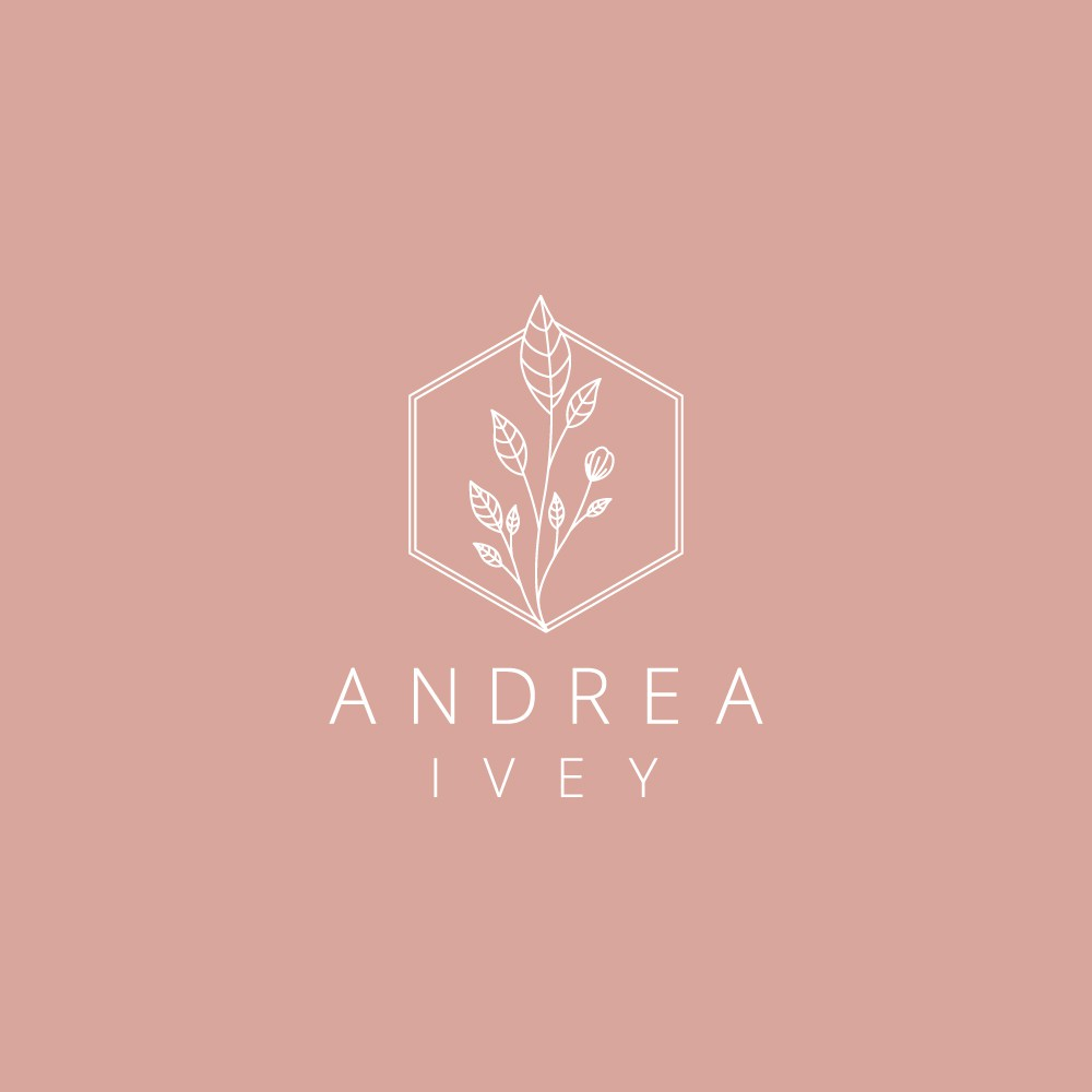Design a trendy logo for hairstylist Andrea Ivey