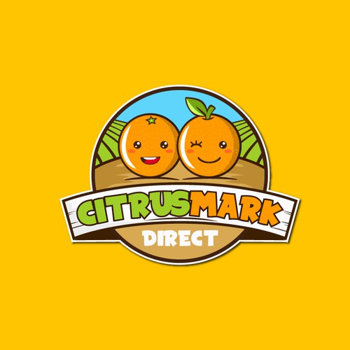 "Logo concept for ""Citrusmark direct"""