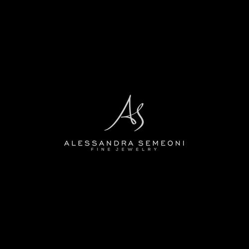 initial logo design