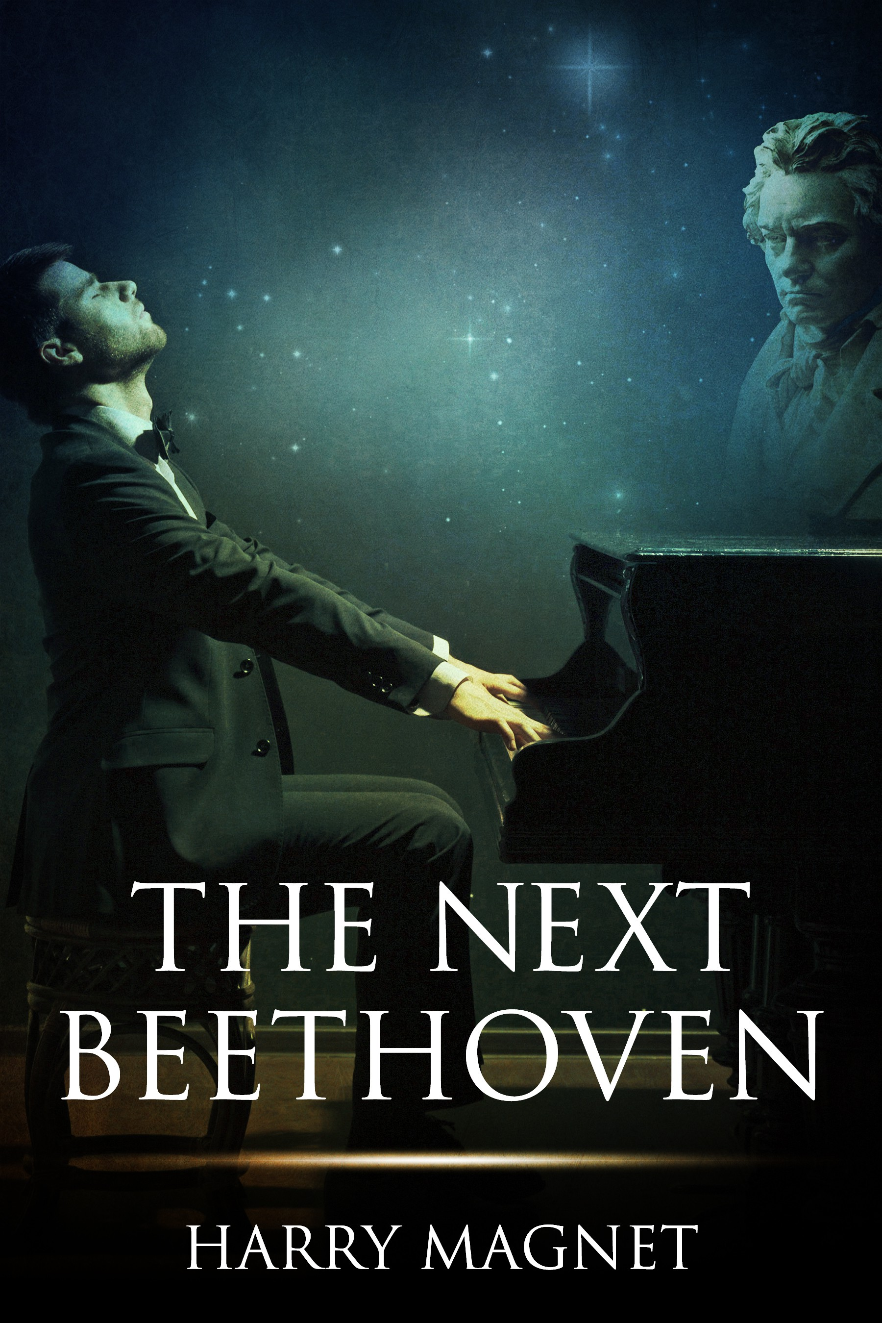 Ebook cover for novel The Next Beethoven