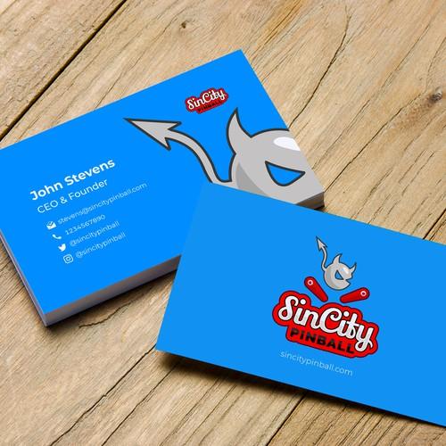 Logo concept for SinCity Pinball