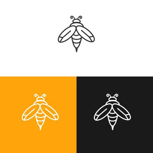 Bee minimalist