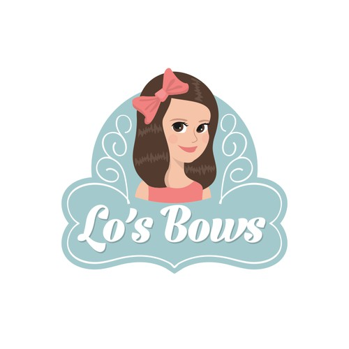 Logo for hair accessories company