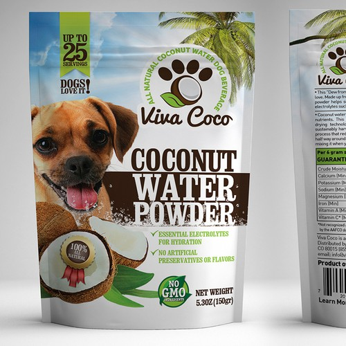 Nutritious All Natural Dog Beverage - Design the award winning packaging