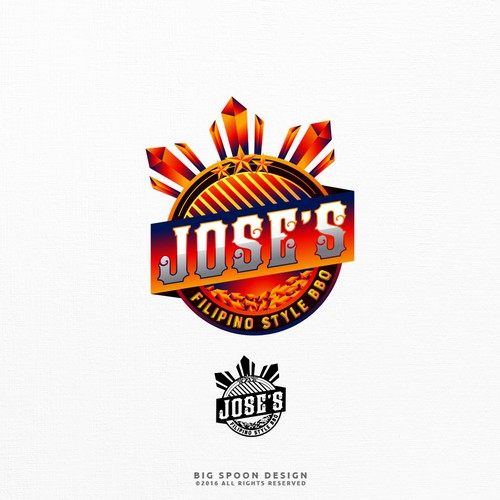 Logo proposal for Jose's Filipino Style BBQ