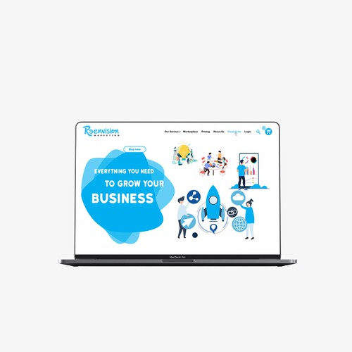 Degital Marketing Website V02