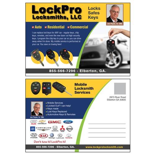 LockPro Postcard