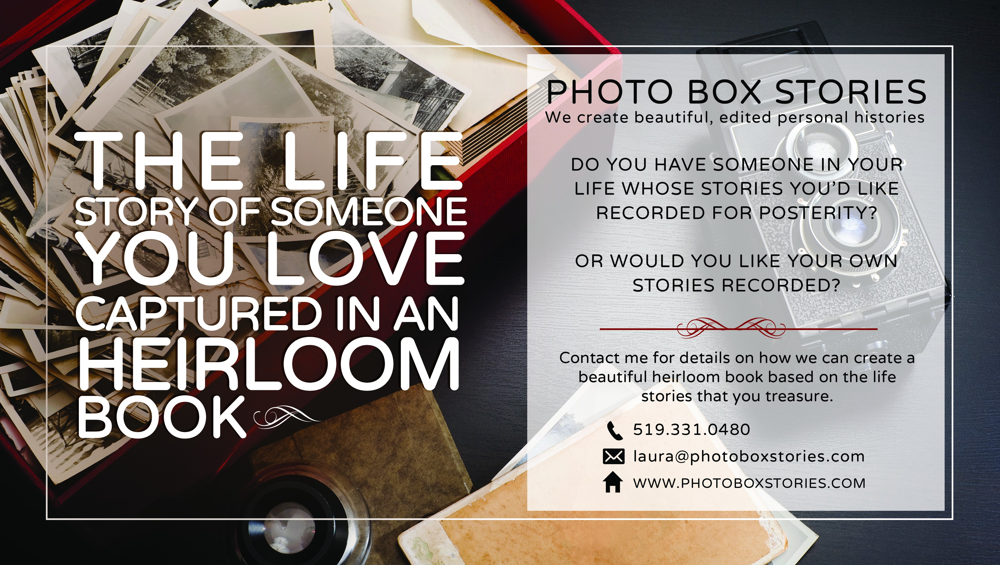 Postcard for Photo Box Stories
