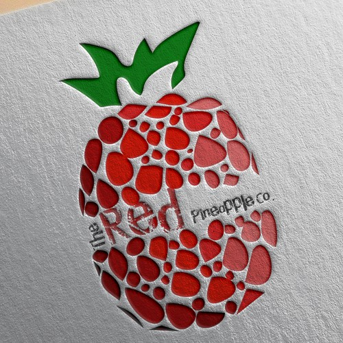 Brand logo concept for Red Pineapple