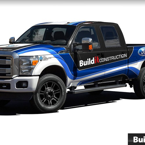 Create a Custom Truck wrap for our 2015 Ford Summer Company Tour!!