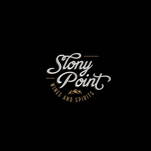 Design a Logo and Business Cards for Stony Point Wines and Spirits