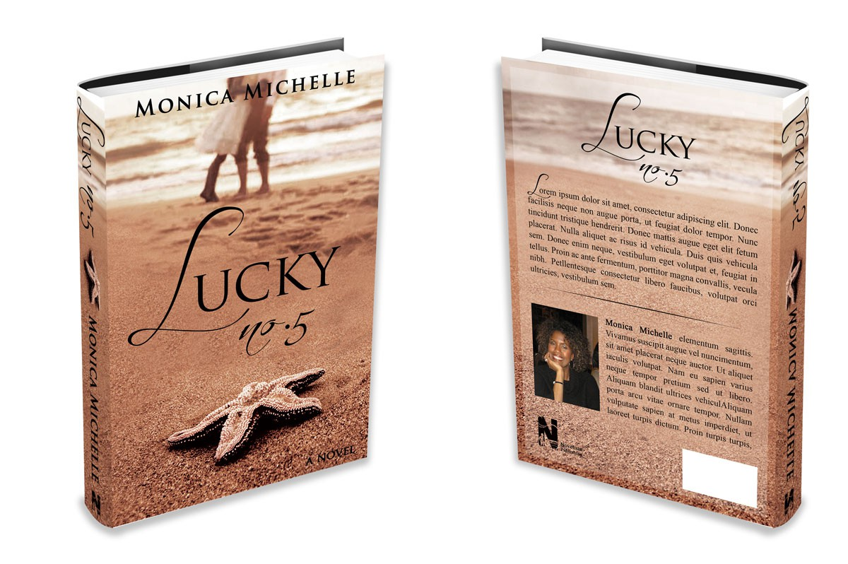 Romantic and Tropical Fiction Book Cover for Novelista Publishing