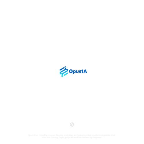 Opus modern logo