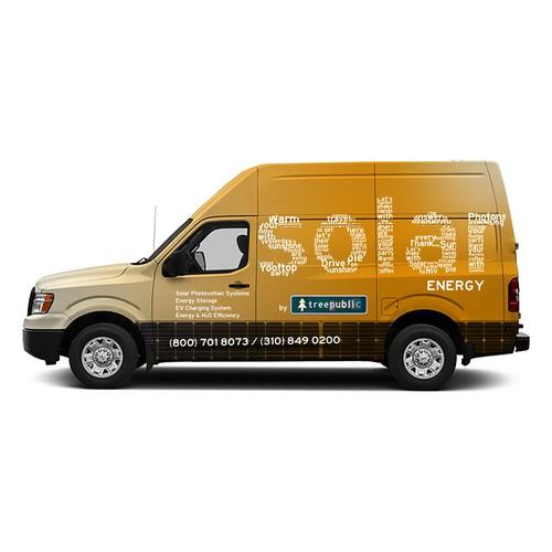 Solar Energy Van