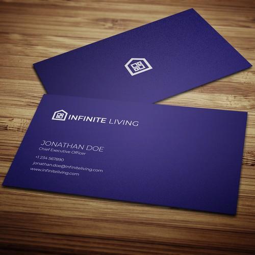 """Logo for """"Infinite Living"""""""