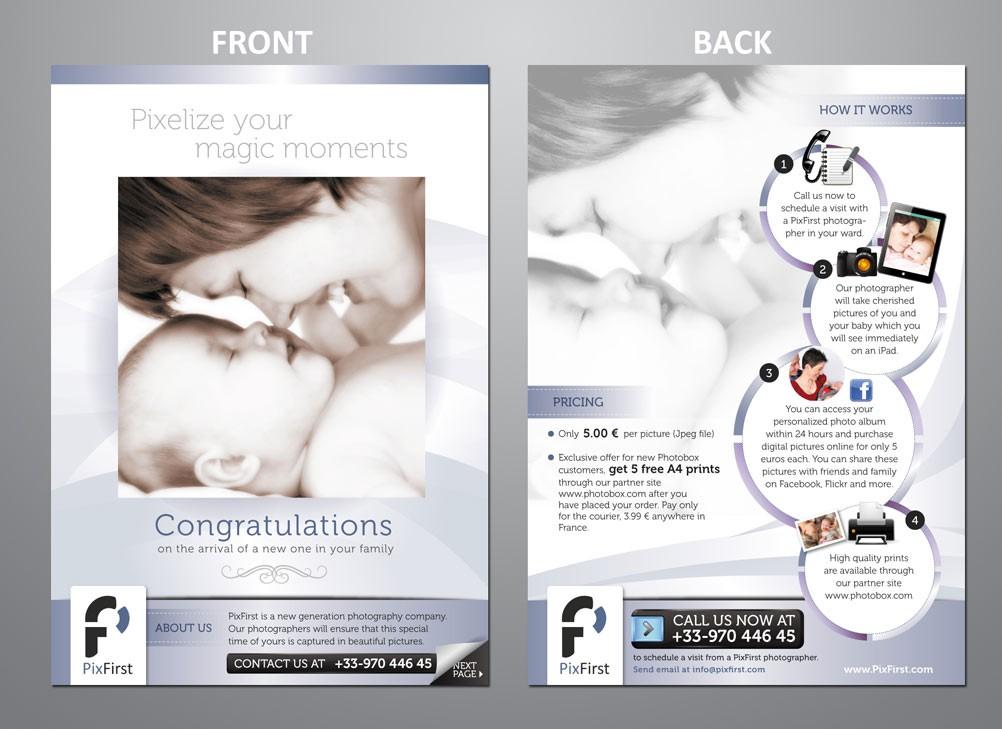 Help Pixfirst with a new brochure design