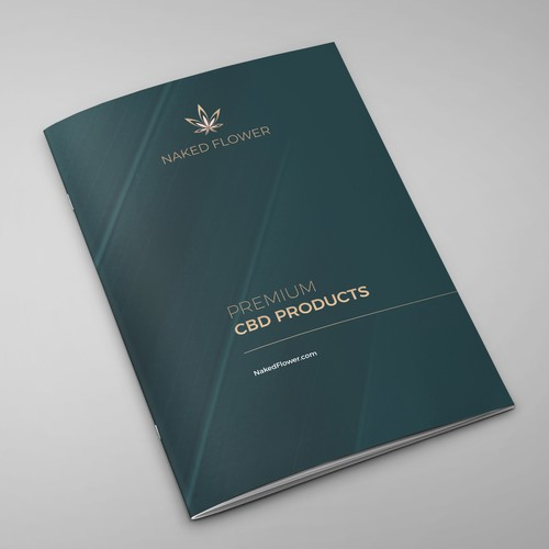 Luxury CBD Product Brochure
