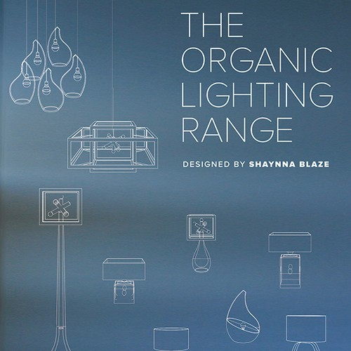 Creating an amazing brochure/poster for the Organic Lighting Collection