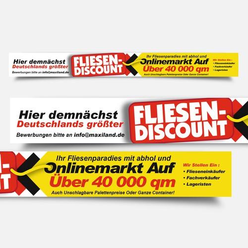 XXL-Poster für Fliesen-Discount