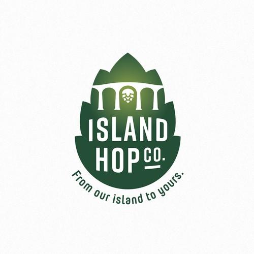 Logo Design Island Hop Company