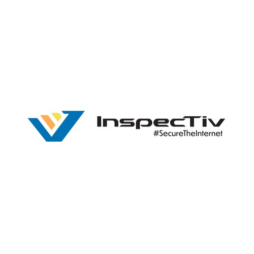 A minimalistic logo for Inspectiv cybersecurity company