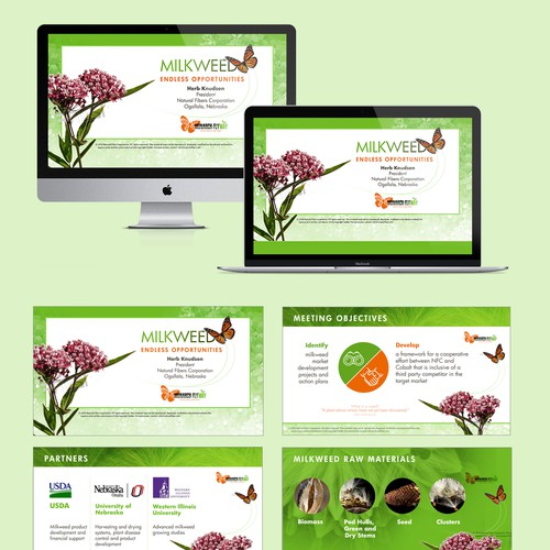 Powerpoint Template for Agricultural business