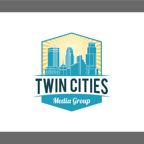 City for Twin Cities Media Group Logo