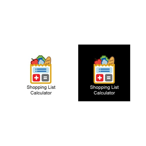 Shopping List Calculator Icon App