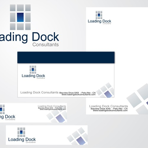 Loading dock Consultants needs a new stationery