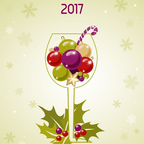 Christmas/New Year greeting card